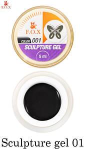 Гель-пластилин Fox №001, 5 мл