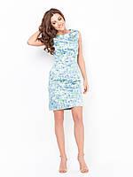 Элегантное стильное женское платье миди из атласа 90177/2