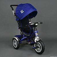 Трехколесный велосипед Best Trike 5388 надувные колеса, синий