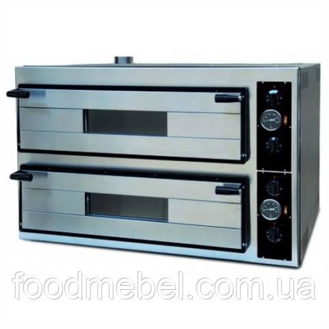 Печь для пиццы Apach AMM 44 двойная камера 70х70 см