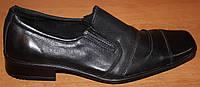 Туфли кожаные для подростка модель ТП10