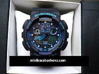 ЧАСЫ CASIO G-SHOCK GA-100A blue