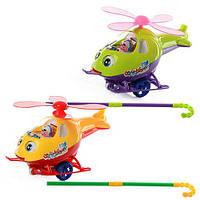 Каталка Вертолет 0302 на палочке