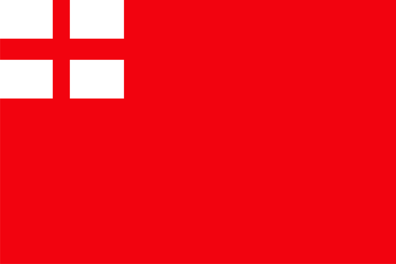 Флаг города Вишневое. Материал искусственный шелк 0,9х1,35м