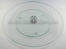 Стійка обертається скляна, діаметр 30 см