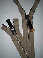 Молния металлическая 75см, тип 10, 2 бегунка, фото 1