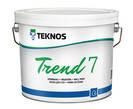 Краска для стен Текнос Тренд 7 (TREND),  18л, Б1