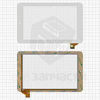 """Сенсорный экран для планшетов China-Tablet PC 7""""; Ainol Novo 7 EOS 3G, Novo 7 Mars, 7"""", 184 мм, 114 мм, 39 pin, емкостный, белый, #SG5419A-FPC- V0"""