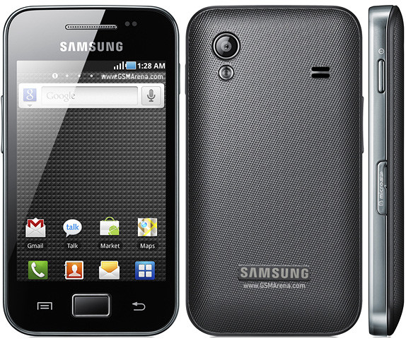 Samsung Ace. 3.5''.3G.RAM 300mB.GPS.5 mPix.Чёрный. Белый.
