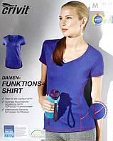 Функциональная женская футболка для спорта topcool от Crivit евро M 40 42