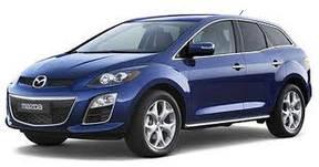 Накладки на пороги Mazda CX7