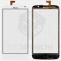 Сенсорный экран для мобильных телефонов BLU D790U Studio G; Gigabyte GSmart Roma RX, (обязательно читайте полезные советы), белый, #CAV4021