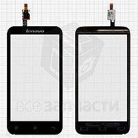 Сенсорный экран для мобильного телефона Lenovo A398T, черный
