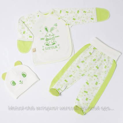 . Комплекты для новорожденных деток 56см Хлопок-интерлок,1860инкс, на выписку,в наличии 56,62рост, фото 2