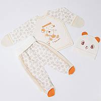 . Комплекты для новорожденных деток 62см Хлопок-интерлок,1860инкс, на выписку,в наличии 56,62рост