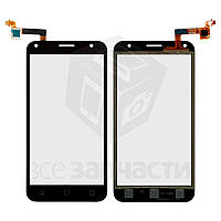 Сенсорный экран для мобильного телефона Alcatel One Touch 5010D Pixi 4 (5), черный