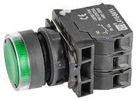 Индикатор, LED 220 B, зеленый (LA110-B5-AV63 Green)