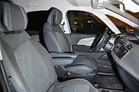 Авточехлы Premium Citroen C4 Picasso 2010 кожзам + ткань