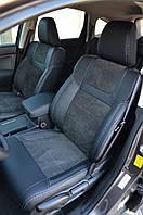 Honda CRV 2012 Оригинальные чехлы MW Brothers Leather style