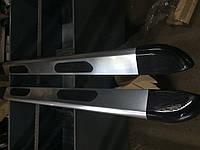 Рено Трафик Боковые площадки JAWS 2 шт алюминий