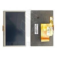 """Дисплей для автонавигатора GPS 4,3', с сенсорным экраном, 4.3"""", 50 pin, (480*272), #LMS430HF12-003"""