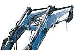 Быстросъемный навесной фронтальный погрузчик КУН на МТЗ, ЮМЗ, Т-40, фото 2