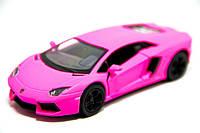 Машинка Kinsmart КТ 5370 PINK Matte Lamborghini