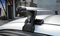 Автобагажник CAMEL (хром, пара) Daewoo Lanos