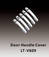 TOYOTA RAV 4 Накладки на дверные ручки (АБС, хром.) 5 дверн
