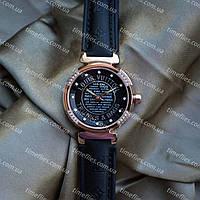 Louis Vuitton #2 Женские кварцевые часы с кожаным ремешком