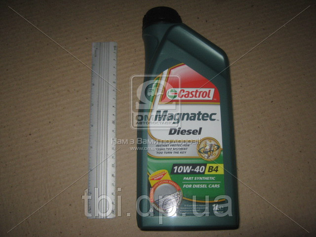 Масло моторное Castrol Magnatec Diesel 10w-40 A3/B4 (Канистра 1л)