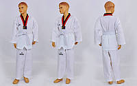 Добок кимоно для тхэквондо WTF Daedo (хлопок 35%, полиэстер 65%, р-р 1-6 (110-116см), 240г на м2)