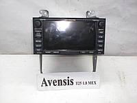Магнитола штатная с DVD и навигацией Toyota Avensis T25 (2003-2008)
