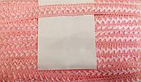 Тесьма самоса, цвет розовый 23м в упак, ширина 20мм