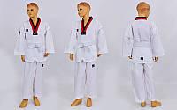 Добок кимоно для тхэквондо Mooto (хлопок 35%, полиэстер 65%, р-р 1-6 (110-160см), 240 г на м2)