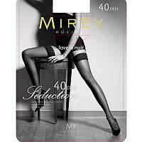 Красивые шелковистые чулки Mirey 40 Den Sed40 купить женские чулки недорого (5 ед. в упаковке)