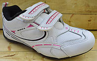Кожаные кроссовки для девочек Bona размеры 31-35