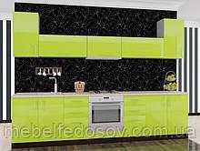 Кухня Hihg Gloss / Хьюго Глос (Меблі стар) лайм М/П