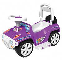 Машинка для катания ОРИОНЧИК фиолетовая ОРИОН 419