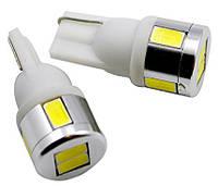 Светодиодные лампы LED W5W 6-SMD (5630)