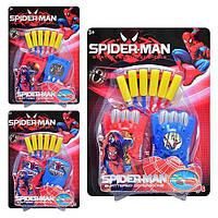 Пістолет з м'ягкими кульками Spider-Man / Пистолет с мягкими пулями Спайдермен