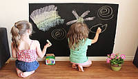 Наліпка (дошка-стікер) на стіну для малювання крейдою / Наклейка на стену для рисования мелом, 60х200 см