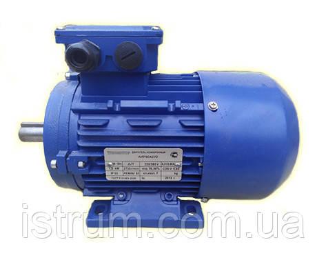 Электродвигатель АИР200M8 (18,5/750)