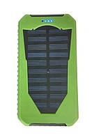 Портативное зарядное устройство на солнечной батареи Power Box Polymer + LED 25800 mAh