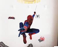 Интерьерная наклейка на стену Человек Паук (MJ8001)