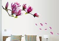 Декоративна наліпка стікер на стіну Квітуча Гілка / Интерьерная наклейка на стену Цветущая Ветвь (AY9157)