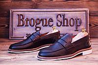 Мужские туфли лоферы P-138 , 26.5  см, 41 размер. Код: 404.