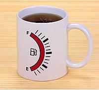 Горнятко хамелеон Заправка Tank Up Coffee Mug / Кружка чашка Бензоколонка (TANK UP)