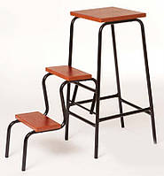 Стул табурет складной стремянка на три ступени (стілець складний драбина на три сходинки)