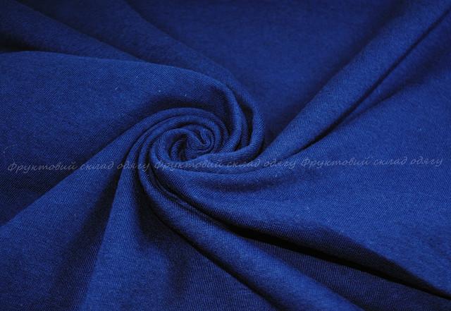 Тёмно-синяя женская классическая футболка